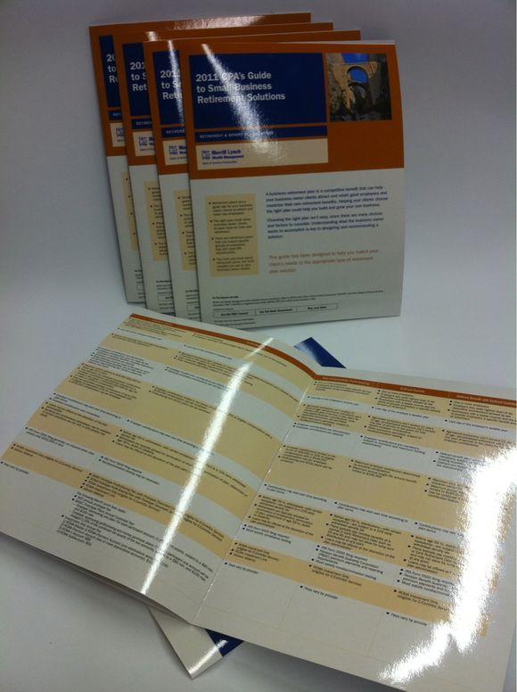 January 13th, 2011  Laminated Brochures