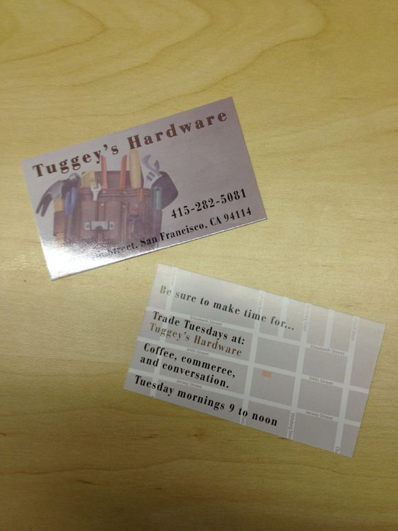 February 27th, 2012  Double Sided Business Cards