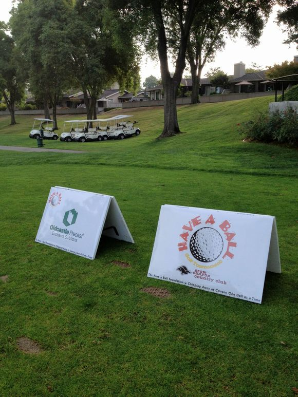 Monday, September 17th 2012  Charity Event Signage