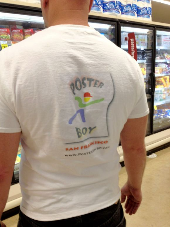 September 22nd, 2012  Branding with T-shirts