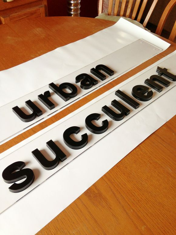 August 6th, 2013  Acrylic Signage