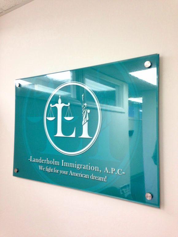 January 13th, 2014  Acrylic Office Signage