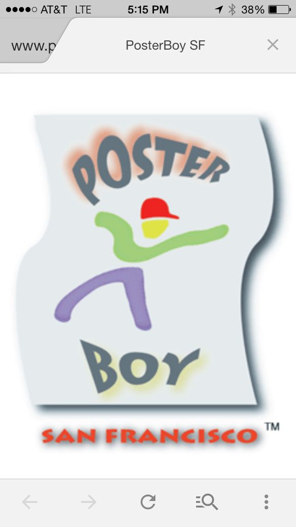July 17th, 2014  PosterBoySF Logo
