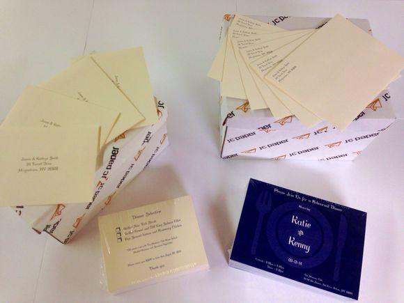 August 13th, 2014  Custom Invite & RSVP's