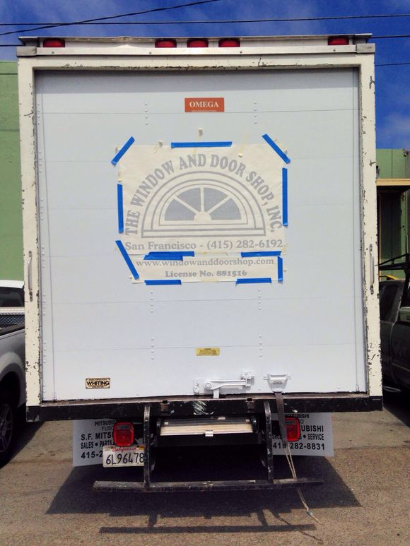 August 23rd, 2014  Truck Signage