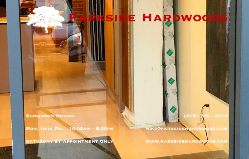 Parkside Hardwoods Decal