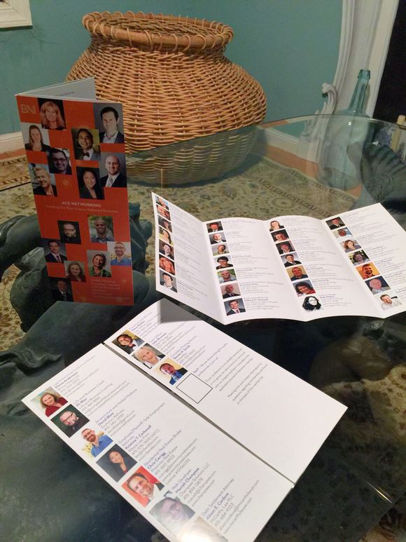 January 16th, 2015  Business Networking Brochures